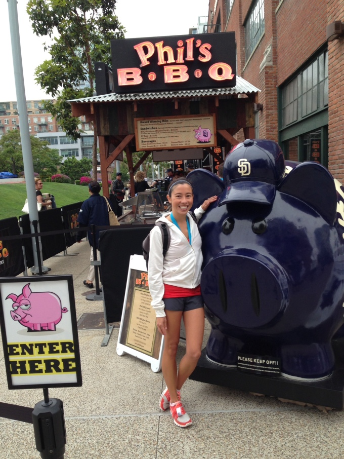 I love pigs, the padres and bbq!